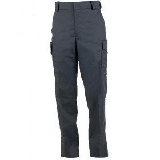 Side-Pocket Wool Blend Trousers-
