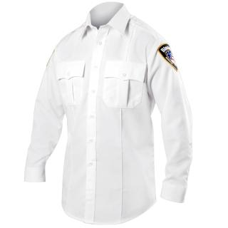 Long Sleeve Zippered Polyester Shirt-