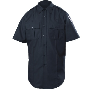 Short Sleeve Zippered Polyester Shirt (Womens)