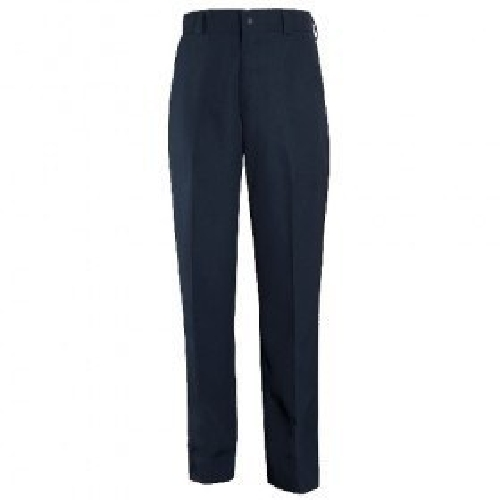 4-Pocket Polyester Trousers-Blauer