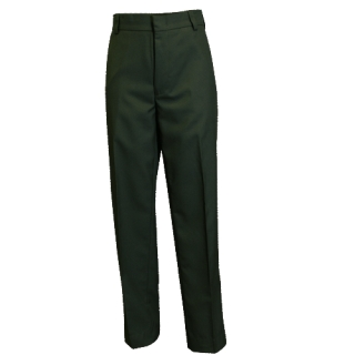 4-Pocket Polyester Trousers-