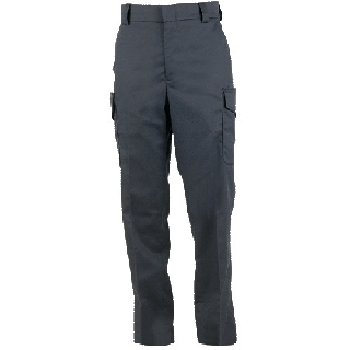 Side-Pocket Polyester Trousers-