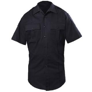 Short Sleeve Cotton Blend Shirt (Womens)-