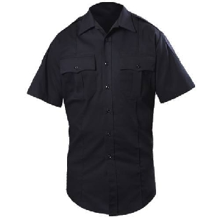 8713X Short Sleeve Cotton Blend Shirt-Blauer