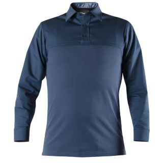 Long Sleeve Cotton Blend Armorskin® Base Shirt-Blauer