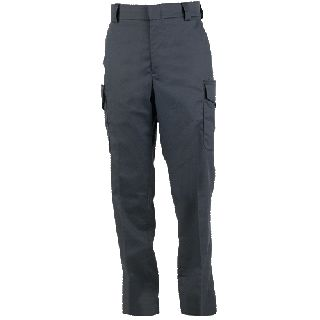 Side-Pocket Cotton Blend Trousers-
