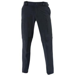 Zip-Off Stretch Nylon Bike Pants-Blauer