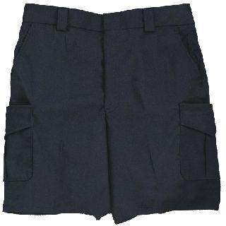 Side Pocket Cotton Blend Shorts