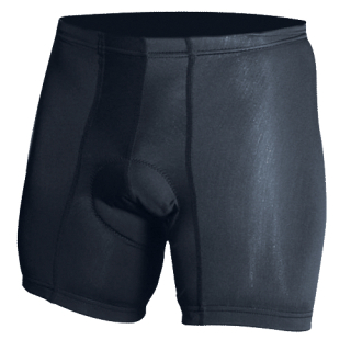 Padded Lycra Bike Shorts-Blauer
