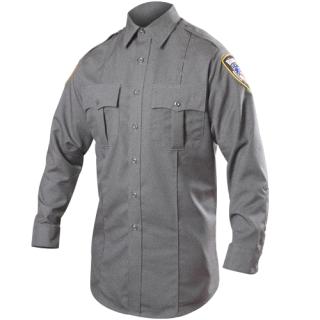 Long Sleeve Rayon Blend Shirt (Heather)-Blauer