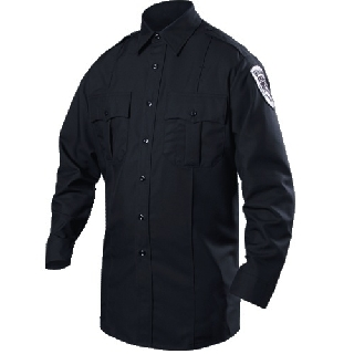 Long Sleeve Rayon Blend Shirt (Womens)-