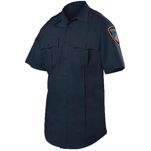 Short Sleeve Rayon Blend Shirt-