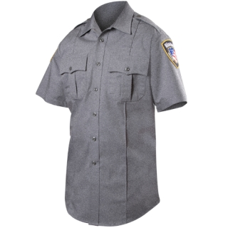 Short Sleeve Rayon Blend Shirt (Heather) (Womens)-Blauer