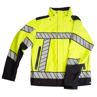 B Dry Super Light Vis Jacket-Blauer