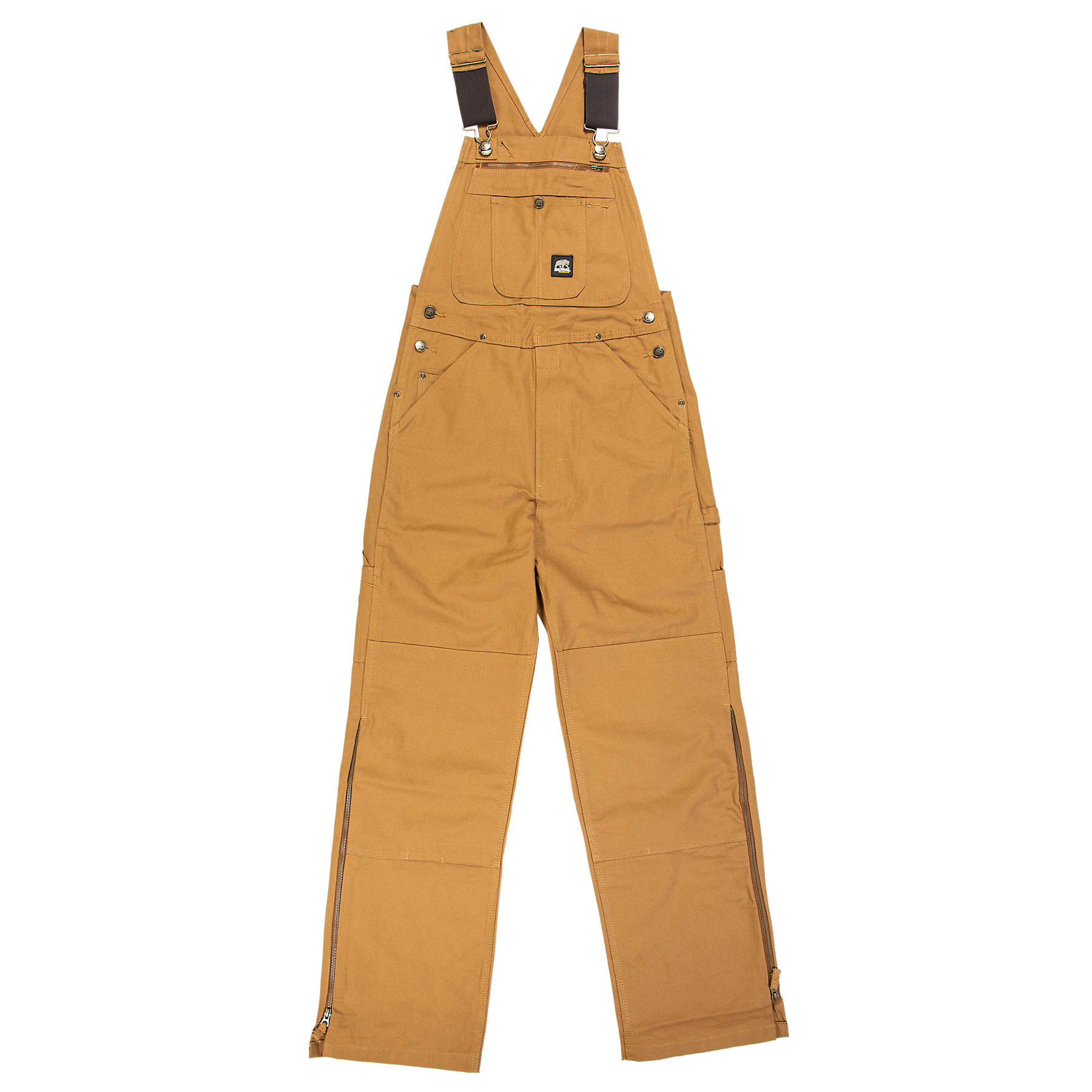 Berne Mens Unlined Washed Duck Bib Overall