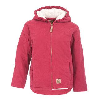 Girls Washed Hooded Coat
