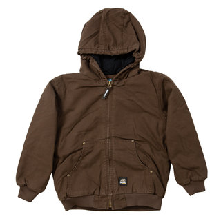 Youth Washed Hooded Jacket