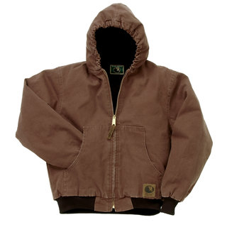 Toddler Washed Hooded Jacket-
