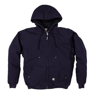 Original Washed Hooded Jacket - Quilt Lined