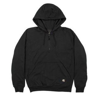 Quarter-Zip Hooded Sweatshirt