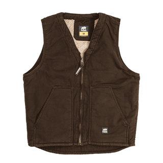 Washed V-Neck Vest-