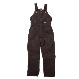 Ladies Washed Insulated Bib Overall
