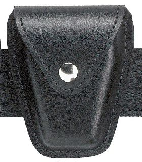 Handcuff Pouch, Top Flap, for Standard Hinged Handcuffs-