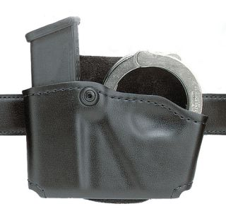 Model 573 Concealment Magazine Holder, Paddle, Single w/Cuff Pouch-