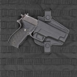 Low Profile Holster for MOLLE Vest-Safariland