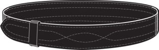 "Buckleless Belt without Hook and Loop, 2.25""-"