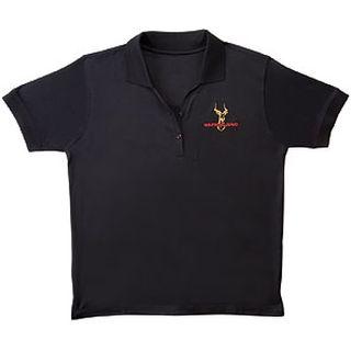 Safariland Black Polo Shirt, for Women-Safariland