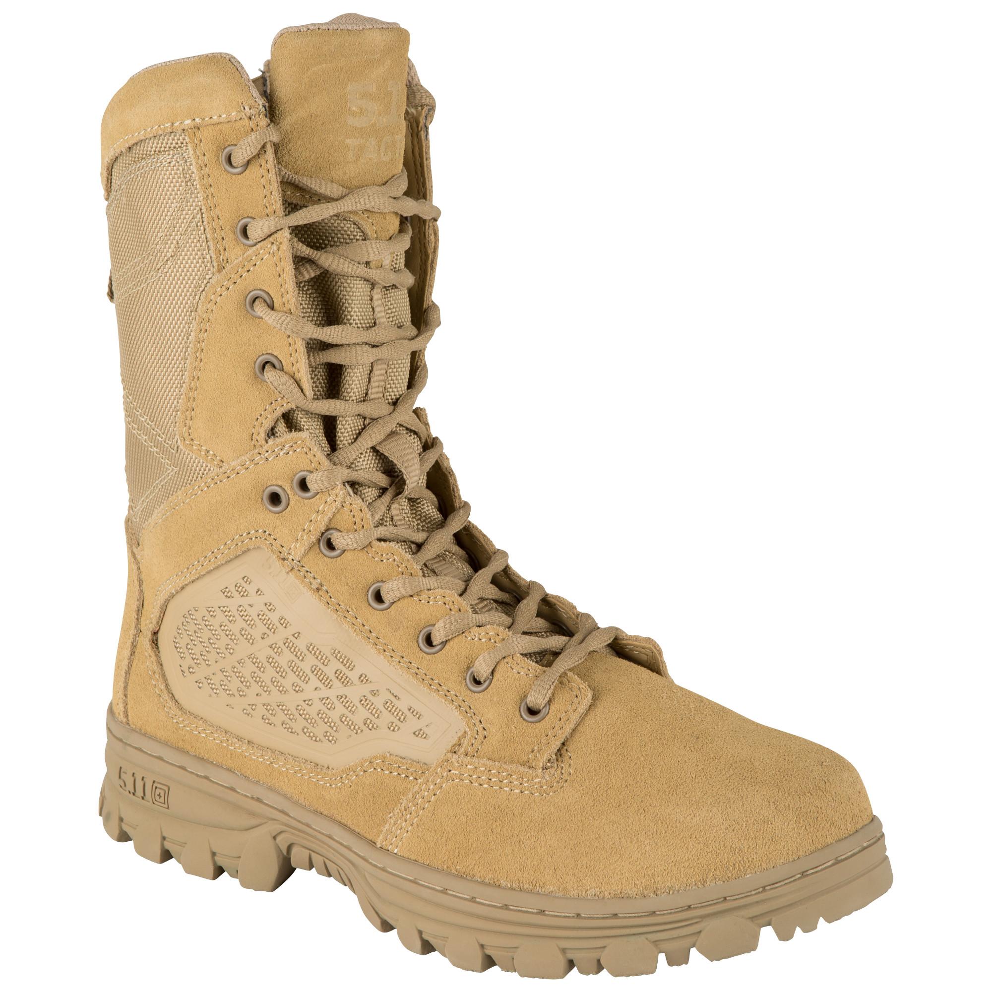 5.11 Tactical Mens Evo 8 Desert Side Zip Boot-5.11 Tactical