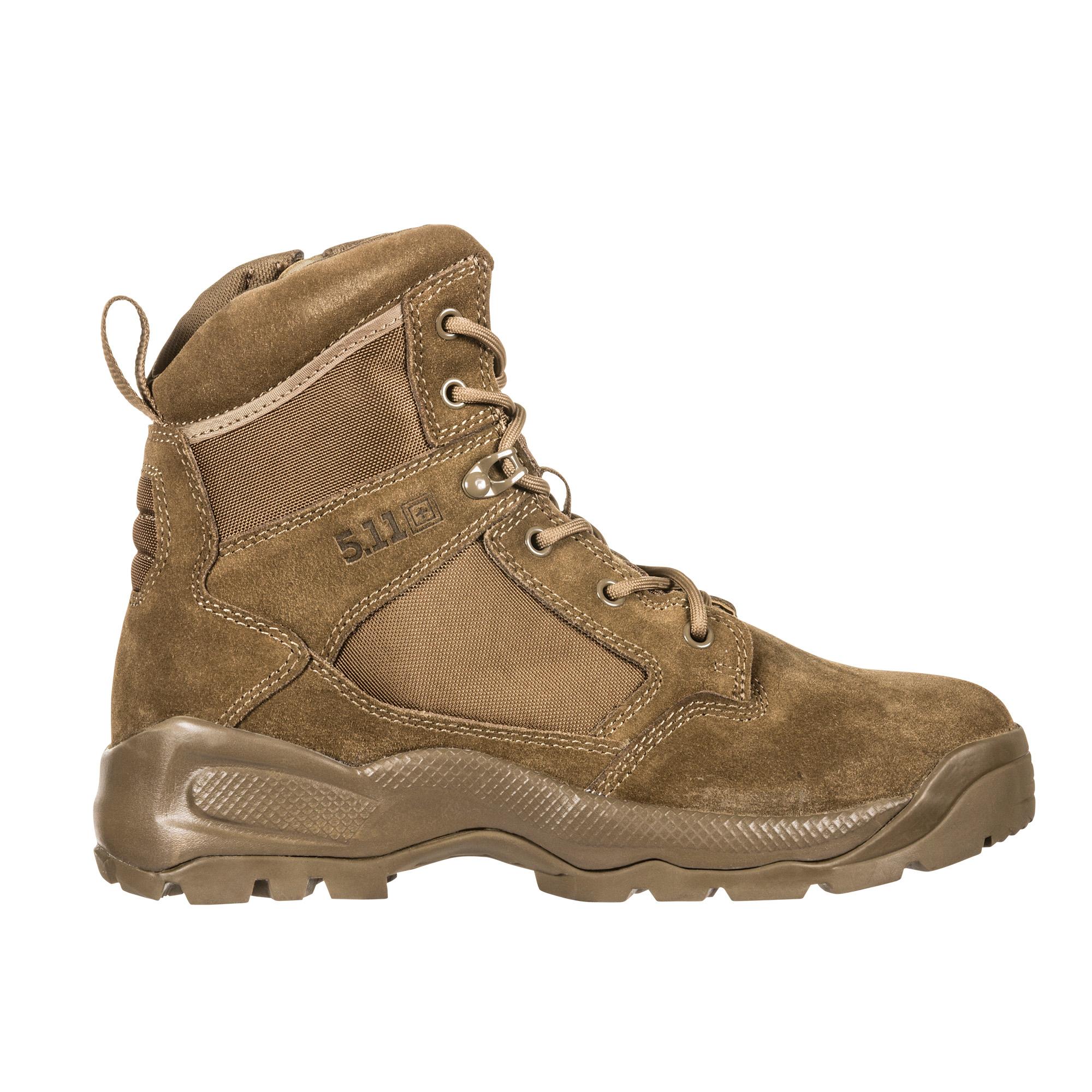5.11 Tactical Mens Atac 2.0 6 Desert Side Zip Boot-5.11 Tactical