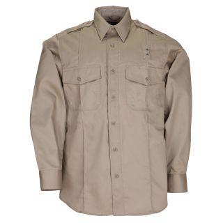 Mens PDU L&#47S Twill Class A Shirt