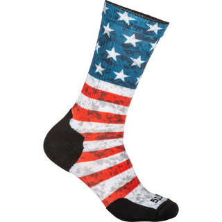5.11 Tactical Men Sock & Awe American Flag Crew Shirt-