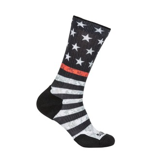 5.11 Tactical Sock & Awe Thin Red Line-