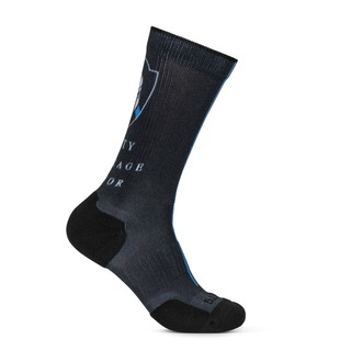 5.11 Tactical Sock & Awe Thin Blue Line Spartan-