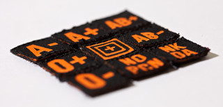 5.11 Tactical Blood Type Patch Kit-