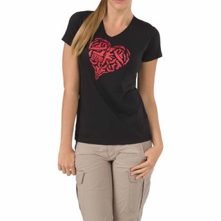 5.11 Tactical Womens Heart Of Steel T-Shirt