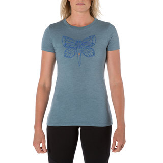 31014FW 5.11 Tactical Women Killer Butterfly Tee-5.11 Tactical