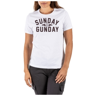 31022PUW 5.11 Tactical Sunday Gunday Tee-5.11 Tactical