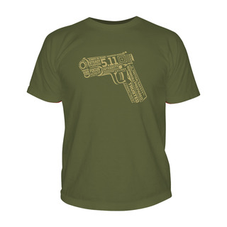 5.11 Tactical MenS 45 Words Or Less T-Shirt-511