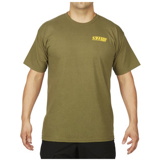 5.11 Tactical MenS Red Scope T-Shirt