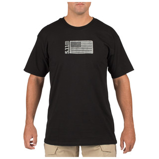 5.11 Tactical MenS Embroidered Flag T-Shirt