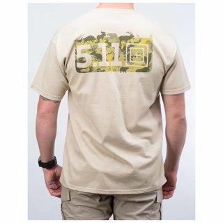 5.11 Tactical MenS Buckshot T-Shirt-511
