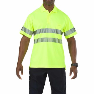 5.11 Tactical MenS High-Visibility Short Sleeve Polo Shirt-5.11 Tactical