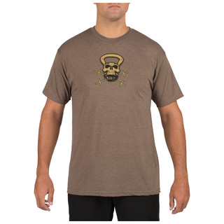 MenS 5.11 Recon Skull Kettle T-Shirt From 5.11 Tactical-