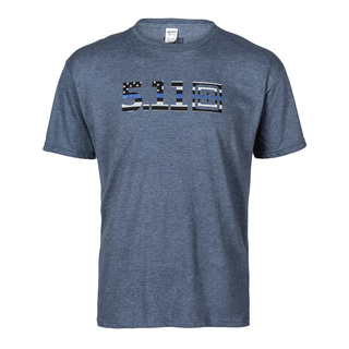 5.11 Tactical MenS Legacy Blue Flag Tee-