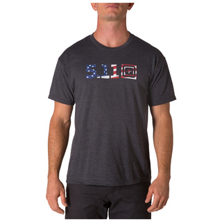5.11 Tactical Men Legacy Usa Flag Fill Tee-