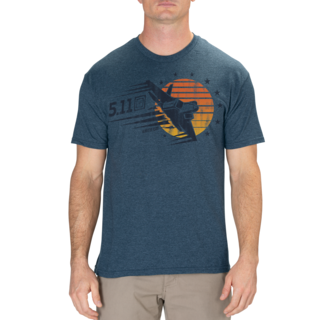 5.11 Tactical MenS Sunset Fire Power Tee-